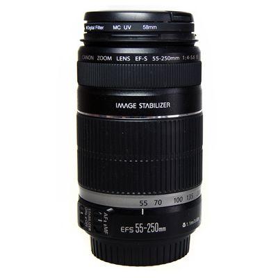 Für weitere Info hier klicken. Artikel: Canon EF-S 4-5,6/55-250mm IS -G-