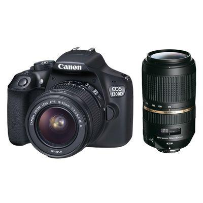Für weitere Info hier klicken. Artikel: Canon EOS 1300D,EF-S 18-55 IS II + Tamron AF 4,0-5,6/70-300 Di VC USD