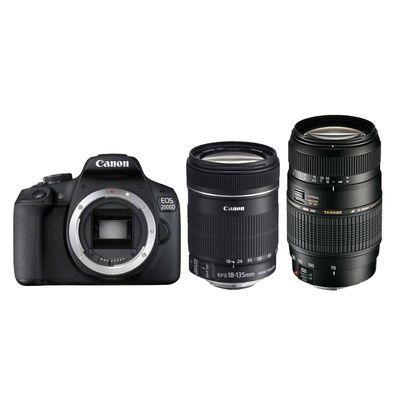 Für weitere Info hier klicken. Artikel: Canon EOS 2000D + EF-S 18-135mm f/3,5-5,6 IS + Tamron AF 70-300mm Di LD Makro Canon EF-S