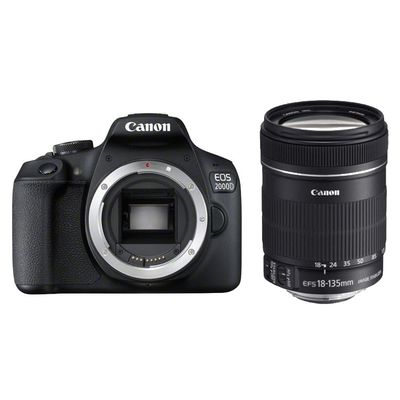 Für weitere Info hier klicken. Artikel: Canon EOS 2000D, EF-S 3,5-5,6/18-135 IS