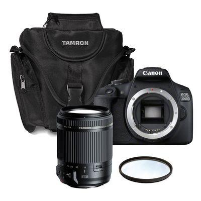 Für weitere Info hier klicken. Artikel: Canon EOS 2000D + Tamron 3,5-6,3/18-200 Di II VC + Tasche + UV-Filter Canon EF-S
