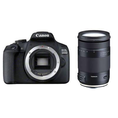 Für weitere Info hier klicken. Artikel: Canon EOS 2000D + Tamron AF 3,5-6,3/18-400 Di II VC HLD Canon EF-S