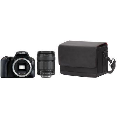 Für weitere Info hier klicken. Artikel: Canon EOS 200D EF-S 3,5-5,6 /18-135mm IS STM + Canon Schultertasche SB100 Canon EF-S