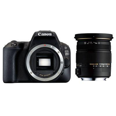 Für weitere Info hier klicken. Artikel: Canon EOS 200D, Sigma AF 17-50mm f/2,8 EX DC OS HSM Canon EF-S