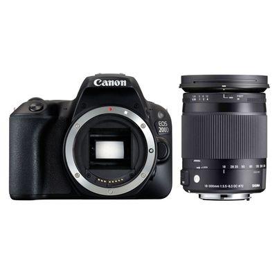 Für weitere Info hier klicken. Artikel: Canon EOS 200D, Sigma AF 3,5-6,3/18-300 DC Macro OS HSM C Canon EF-S