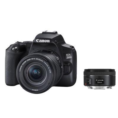 Für weitere Info hier klicken. Artikel: Canon EOS 250D + EF-S 18-55 IS STM + 1,8/50 STM Kit