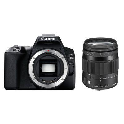 Für weitere Info hier klicken. Artikel: Canon EOS 250D + Sigma AF 18-200mm f/3,5-6,3 DC Makro OS HSM C