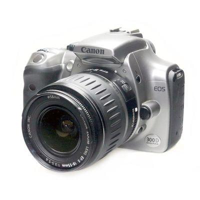Für weitere Info hier klicken. Artikel: Canon EOS 300D mit EF-S 18-55mm -G-