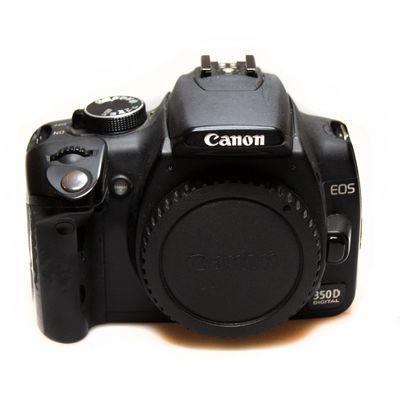 Für weitere Info hier klicken. Artikel: Canon EOS 350D Gehäuse -G-