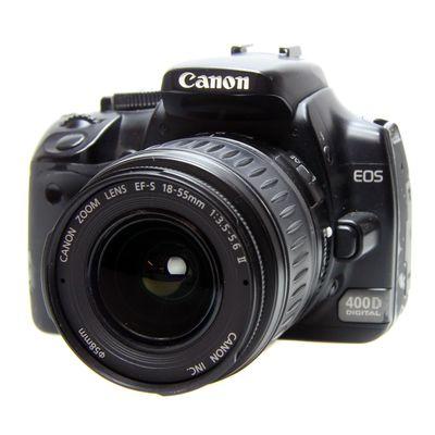 Für weitere Info hier klicken. Artikel: Canon EOS 400D,EF-S 3,5-5,6/18-55 -Second Hand-