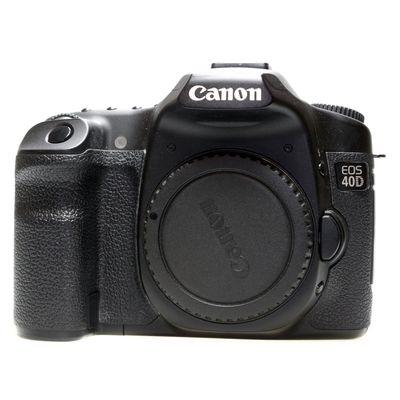 Für weitere Info hier klicken. Artikel: Canon EOS 40D Gehäuse -G-