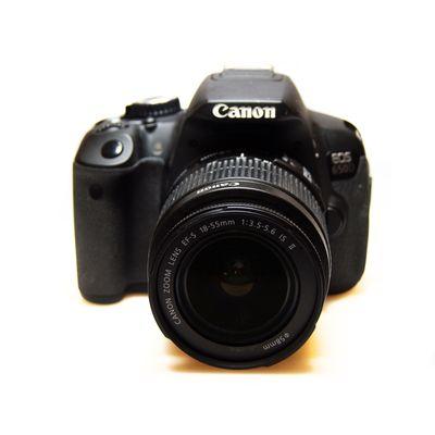 Für weitere Info hier klicken. Artikel: Canon EOS 650D mit 18-55mm is -G-