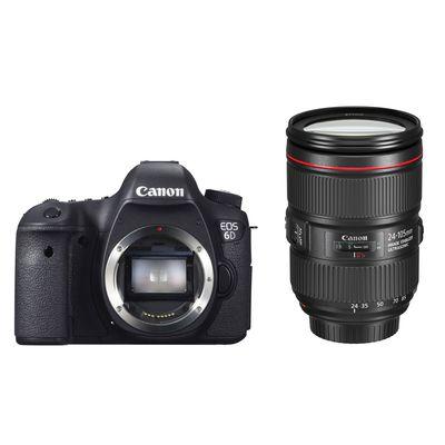 Für weitere Info hier klicken. Artikel: Canon EOS 6D + Canon EF 4,0/24-105 L IS II USM Canon EF