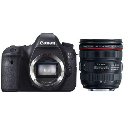 Für weitere Info hier klicken. Artikel: Canon EOS 6D,EF 4,0/24-70 L IS USM