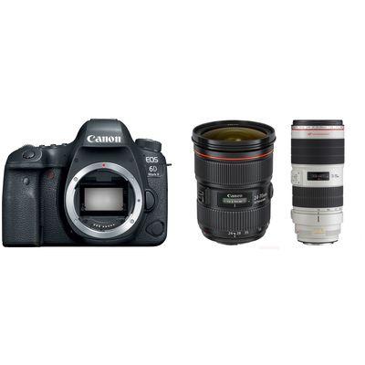 Für weitere Info hier klicken. Artikel: Canon EOS 6D Mark II + EF 24-70/2.8 L II + 70-200/2,8 L IS II USM