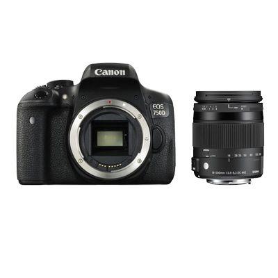 Für weitere Info hier klicken. Artikel: Canon EOS 750D,Sigma AF 18-200 DC OS HSM C