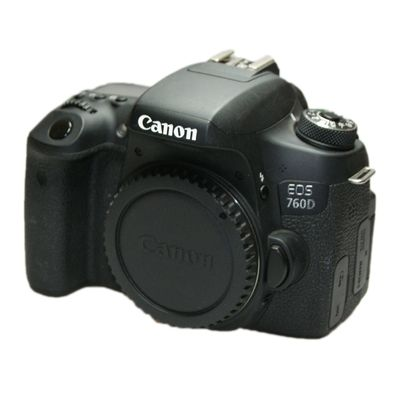 Für weitere Info hier klicken. Artikel: Canon EOS 760D Gehäuse Ohne Akku Ohne Ladegerät -G-