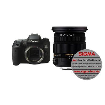 Für weitere Info hier klicken. Artikel: Canon EOS 760D,Sigma 17-50 EX DC OS HSM