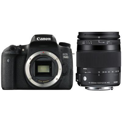 Für weitere Info hier klicken. Artikel: Canon EOS 760D, Sigma 18-200mm DC OS HSM C