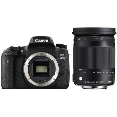 Für weitere Info hier klicken. Artikel: Canon EOS 760D,Sigma 18-300 OS HSM