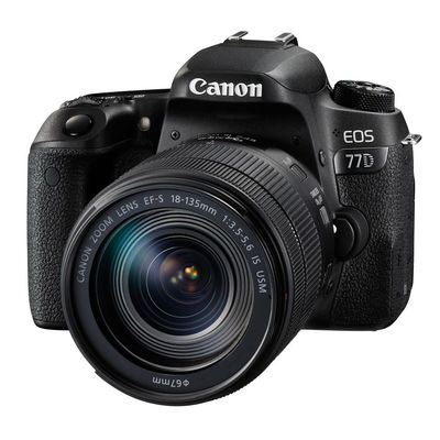 Für weitere Info hier klicken. Artikel: Canon EOS 77D Kit inkl EF-S 3,5-5,6/18-135 mm IS USM - Retourenware -