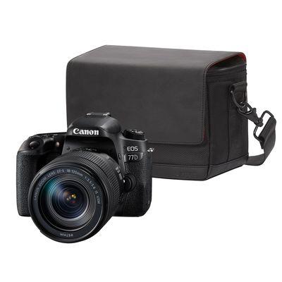 Für weitere Info hier klicken. Artikel: Canon EOS 77D Kit inkl EF-S 3,5-5,6/18-135 mm IS USM + Canon Schultertasche SB100 Canon EF-S