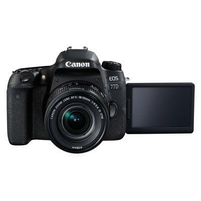 Für weitere Info hier klicken. Artikel: Canon EOS 77D + EF-S 18-55mm f/4,0-5,6 IS STM