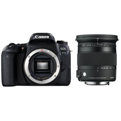 Für weitere Info hier klicken. Artikel: Canon EOS 77D + Sigma AF 2,8-4,0/17-70 DC OS HSM C