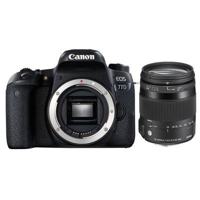 Für weitere Info hier klicken. Artikel: Canon EOS 77D + Sigma AF 3,5-6,3/18-200 DC Makro OS HSM C Canon EF-S