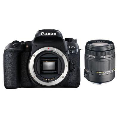 Für weitere Info hier klicken. Artikel: Canon EOS 77D + Sigma AF 3,5-6,3/18-250 DC Mac. OS HSM Canon EF-S
