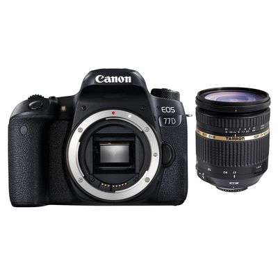 Für weitere Info hier klicken. Artikel: Canon EOS 77D + Tamron AF 2,8/17-50 XR Di II VC LD Canon EF-S