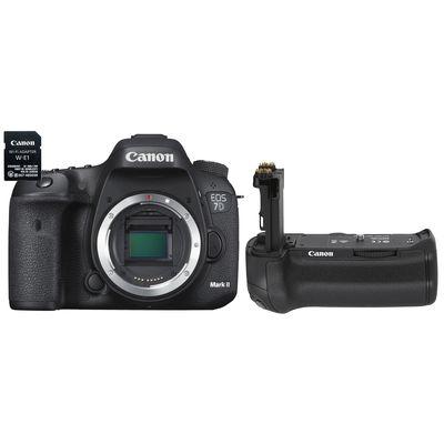 Für weitere Info hier klicken. Artikel: Canon EOS 7D Mark II + WiFi Adapter W-E1 + Batteriegriff BG-E16