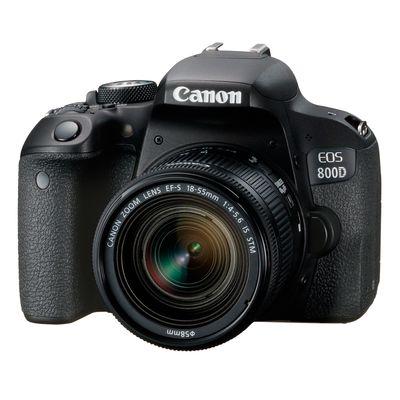 Für weitere Info hier klicken. Artikel: Canon EOS 800D Kit inkl. EF-S 4,0-5,6/18-55 mm IS STM