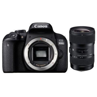 Für weitere Info hier klicken. Artikel: Canon EOS 800D + Sigma AF 1,8/18-35 DC HSM A