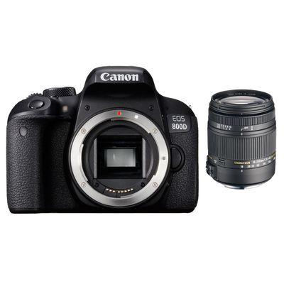 Für weitere Info hier klicken. Artikel: Canon EOS 800D + Sigma AF 3,5-6,3/18-250 DC Mac. OS HSM Canon EF-S