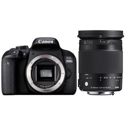 Für weitere Info hier klicken. Artikel: Canon EOS 800D + Sigma AF 3,5-6,3/18-300 DC Macro OS HSM C Canon