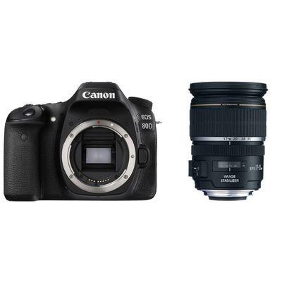 Für weitere Info hier klicken. Artikel: Canon EOS 80D + Canon EF-S 17-55mm f/2,8 IS USM Canon EF-S