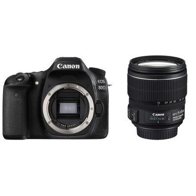 Für weitere Info hier klicken. Artikel: Canon EOS 80D + Canon EF-S 15-85mm f/3,5-5,6 IS USM Canon EF-S