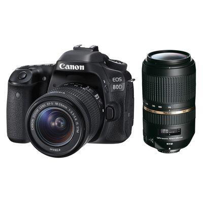 Für weitere Info hier klicken. Artikel: Canon EOS 80D,EF-S 3,5-5,6/18-55 IS STM + Tamron AF 4,0-5,6/70-300 Di VC USD