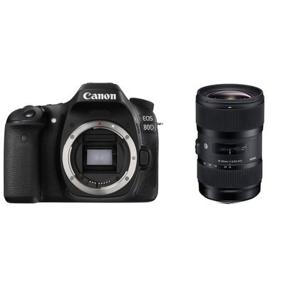 Für weitere Info hier klicken. Artikel: Canon EOS 80D + Sigma AF 1,8/18-35 DC HSM A Canon EF-S