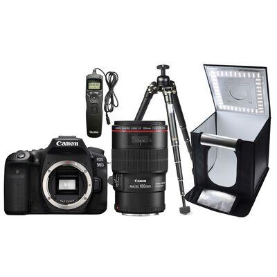 Für weitere Info hier klicken. Artikel: Canon EOS 90D + EF 100mm f/2,8 - Macro Kit für Zuhause