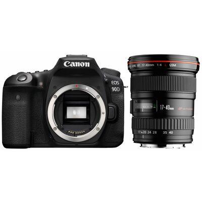 Für weitere Info hier klicken. Artikel: Canon EOS 90D + EF 17-40mm f/4,0 L USM