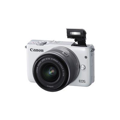 Für weitere Info hier klicken. Artikel: Canon EOS M10, EF-M 15-45 IS STM weiß