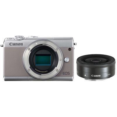 Für weitere Info hier klicken. Artikel: Canon EOS M100 + EF-M 2,0 / 22mm STM grau Canon EF-M