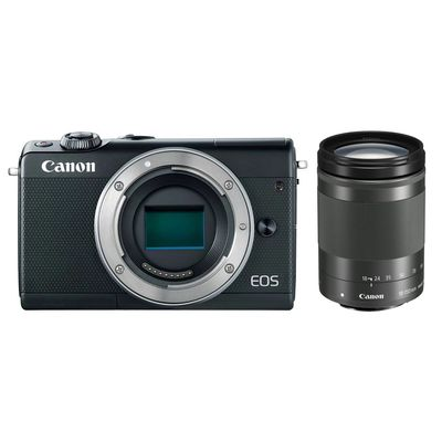 Für weitere Info hier klicken. Artikel: Canon EOS M100,EF-M 3,5-6,3/18-150 IS STM schwarz