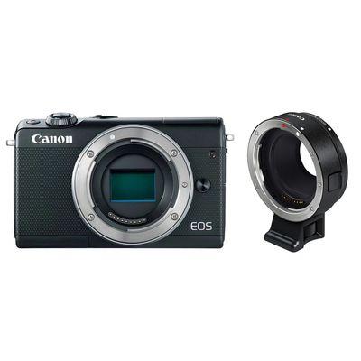 Für weitere Info hier klicken. Artikel: Canon EOS M100 , Objektivadapter EF-EOS M schwarz