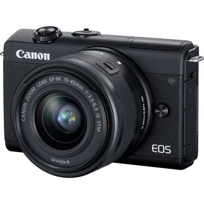 Für weitere Info hier klicken. Artikel: Canon EOS M200 + EF-M 15-45mm f/3.5-6.3 Canon EF-M schwarz