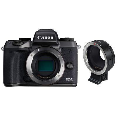 Für weitere Info hier klicken. Artikel: Canon EOS M5 , Objektivadapter EF-EOS M schwarz