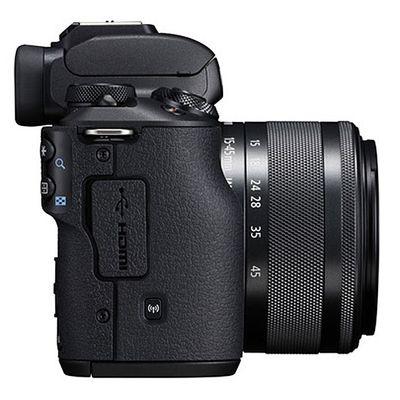 Für weitere Info hier klicken. Artikel: Canon EOS M50 + EF-M 15-45mm + 32 GB Speicherkarte + Zusatzakku (Peter Hadley Special Kit) schwarz