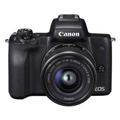 Für weitere Info hier klicken. Artikel: Canon EOS M50 + EF-M 3,5-6,3/15-45 IS STM schwarz
